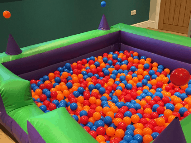 Ball-Pool-with-Air-Cones